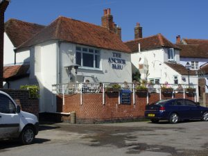 Brian Yoling's favourite pub The Anchor Bleu Bosham