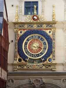 The town clock Rouen