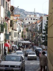 The centre of Funchal