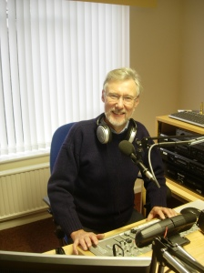 Mervyn Gamage at Moorland Radio